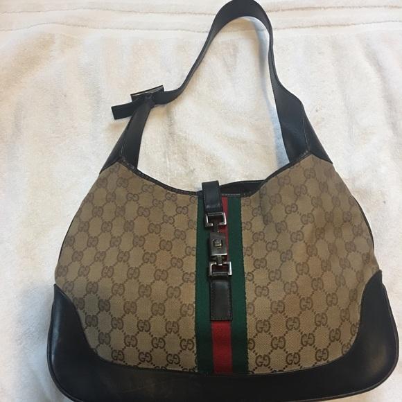 0a22e67f54a5ec Gucci Bags | Authentic Vintage Jackie O Handbag | Poshmark